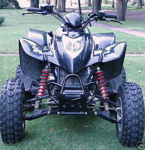 kymco mongoose maxxer 250 or 300 a arms shocks atv widening kit 6 ebay. Black Bedroom Furniture Sets. Home Design Ideas