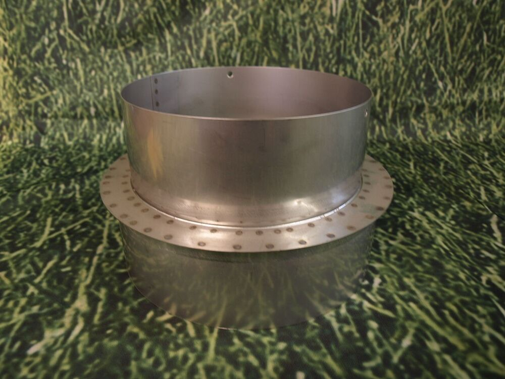 4 Quot To 5 Quot Stainless Steel Stove Pipe Reducer Ebay