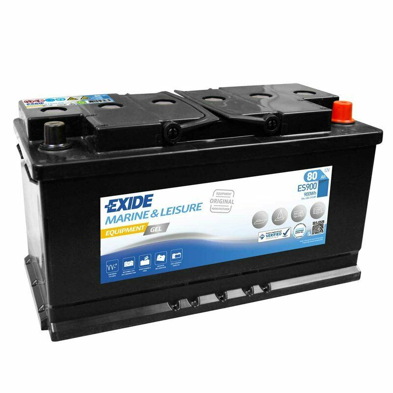 exide equipment gel es900 12v 80ah g80 batterie