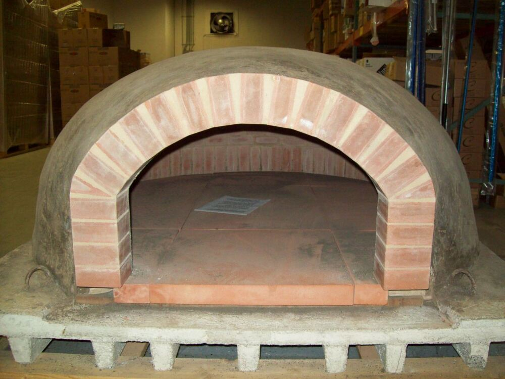 Wood Burning Pizza Oven Handmade In Italy Real Terra