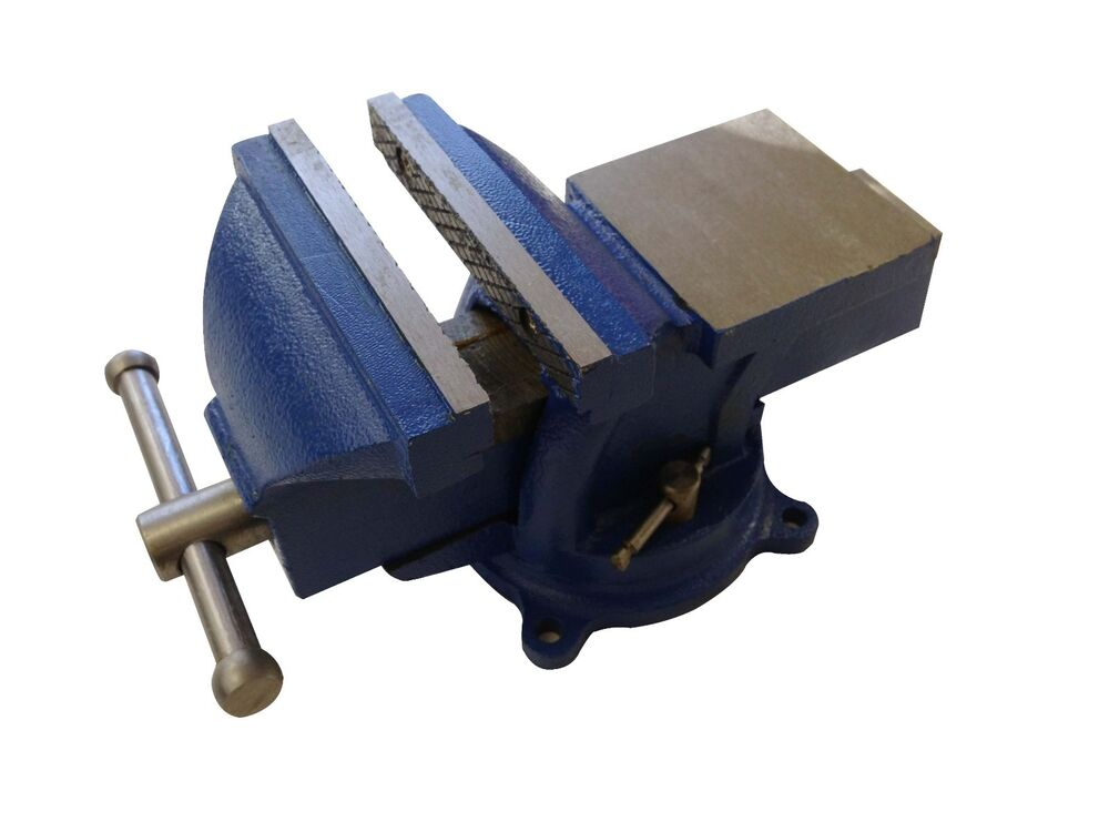 6 Bench Vise Clamp Tabletop Vises Swivel Locking Base
