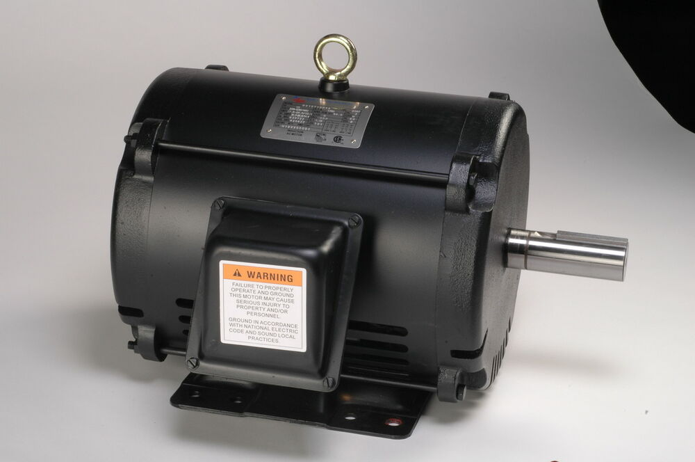 2 Hp Electric Motor 184t 3 Phase Open Drip Proof 1180 Rpm