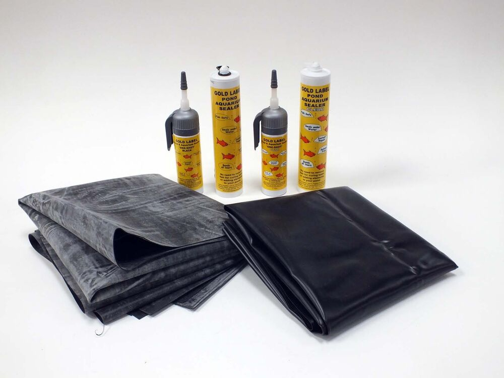 Gold Label Pond Liner Repair Kit With Rubber Or Pvc Liner