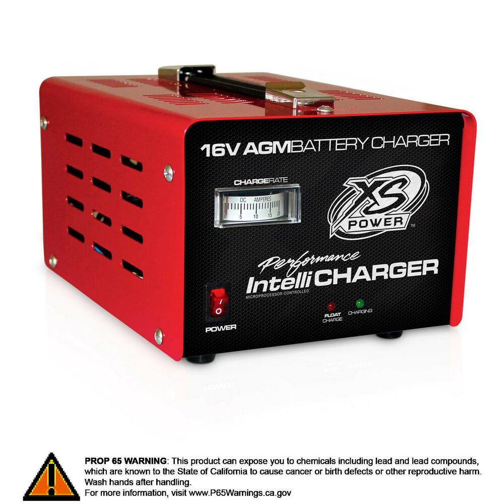 xs power 1004 battery charger 16v battery intellicharger. Black Bedroom Furniture Sets. Home Design Ideas