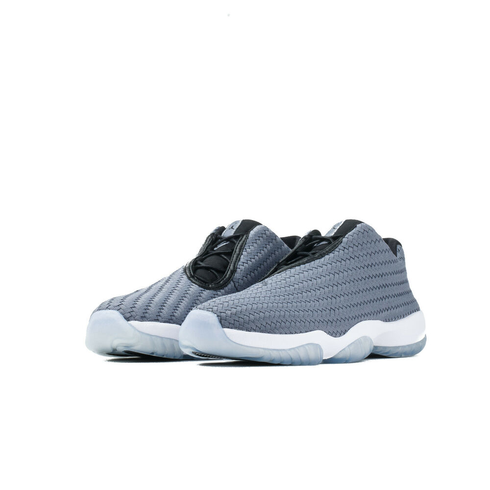 bf7bdbee1dc Details about 718948-004 Men's Air Jordan Future Low Shoe!! COOL GREY/BLACK/ WHITE!! AUTHENTIC!