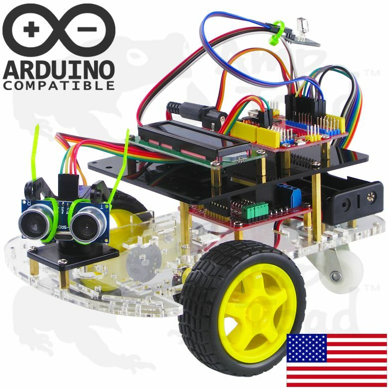 Arduino programmable robot smart car bot learning starter