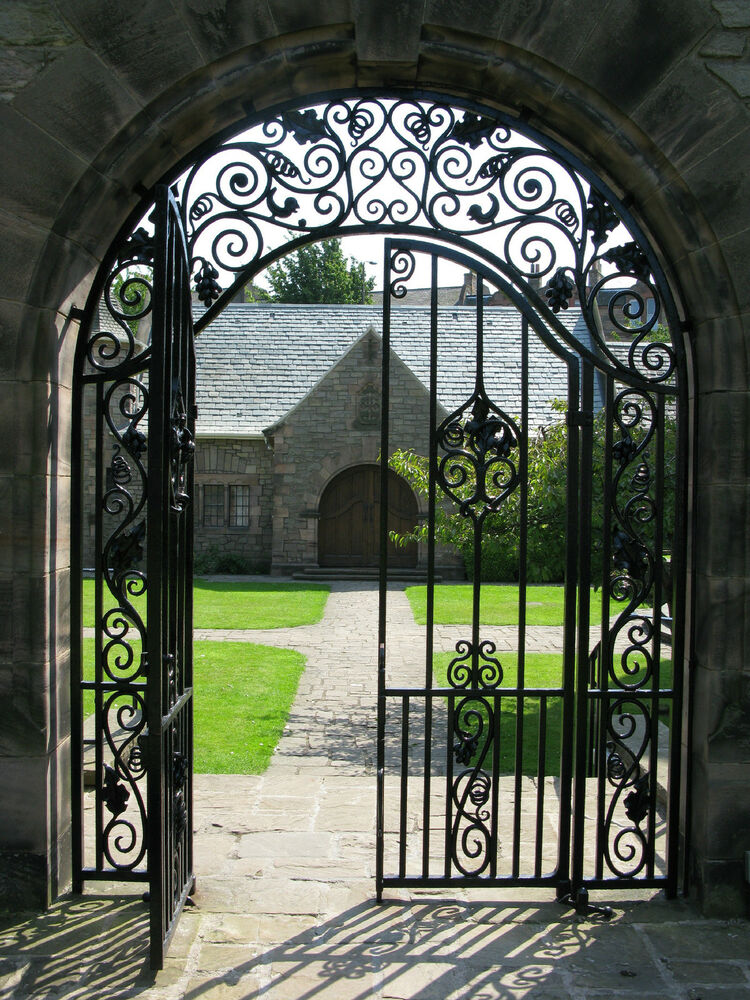 Cast Iron Garden Gate Or A Great Door For Wine Cellar