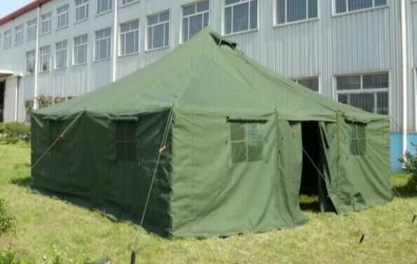 16 Person Instant Tent : Person military army tent camping hunting double layer