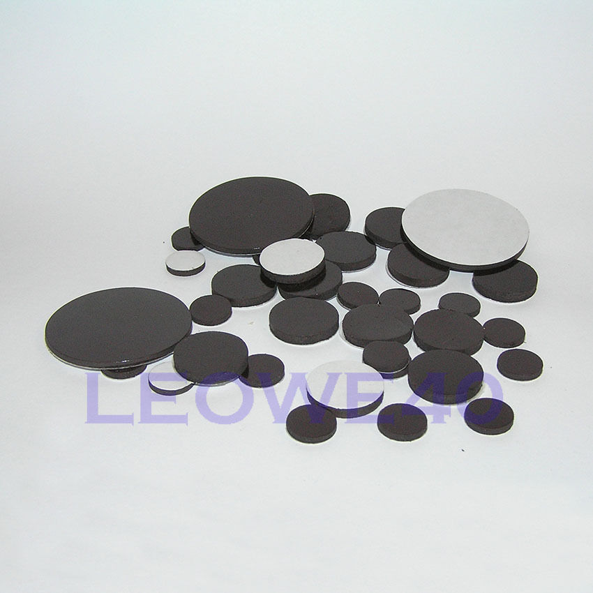Self adhesive disk magnets round rubber magnetic craft for Where to buy magnets for crafts