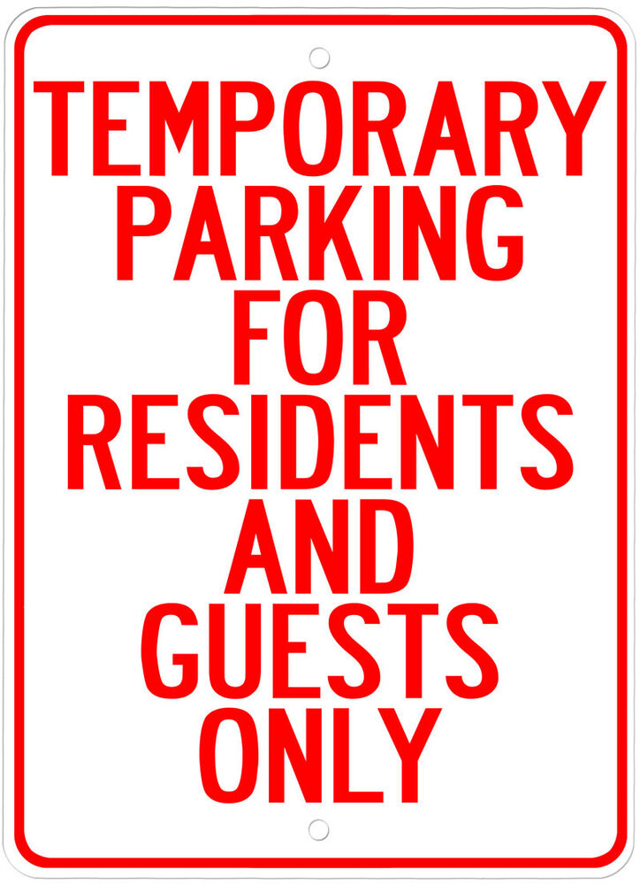 Tenant Parking Only Sign - Window Business Sticker Set | eBay