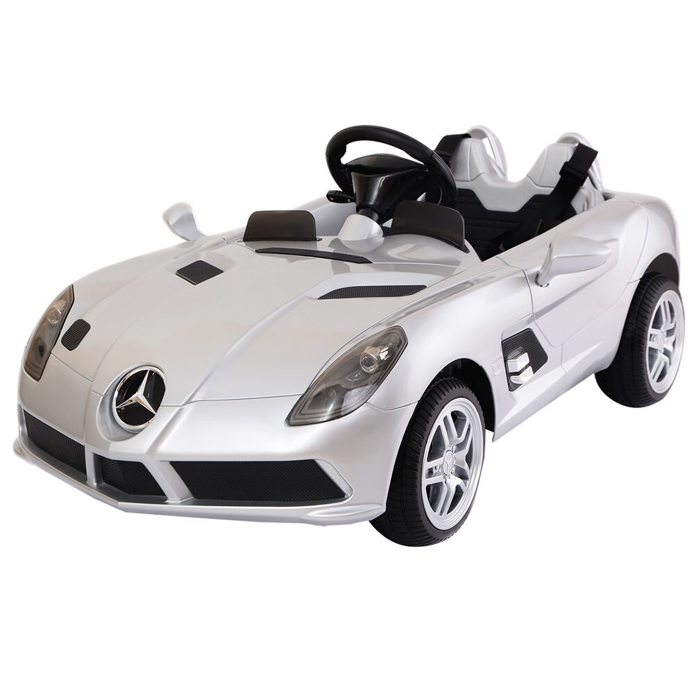 Mercedes benz z199 12v electric kids ride on car licensed for Mercedes benz kids