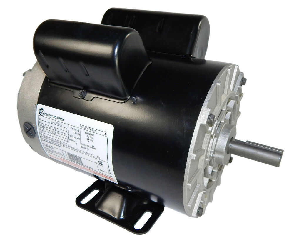 3 hp 3450 rpm air compressor electric motor 115 230 volts