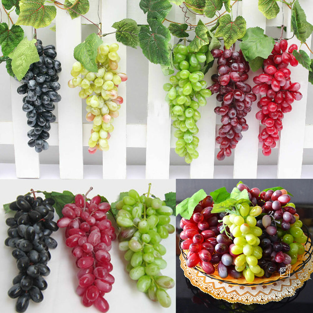 22-Grapes Bunch Creative Artificial Grapes Plastic Fake