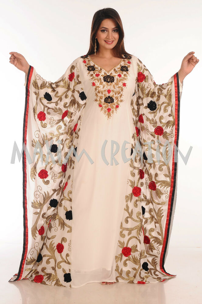 New Moroccan Dress For Women Jilbab Arabian Islamic