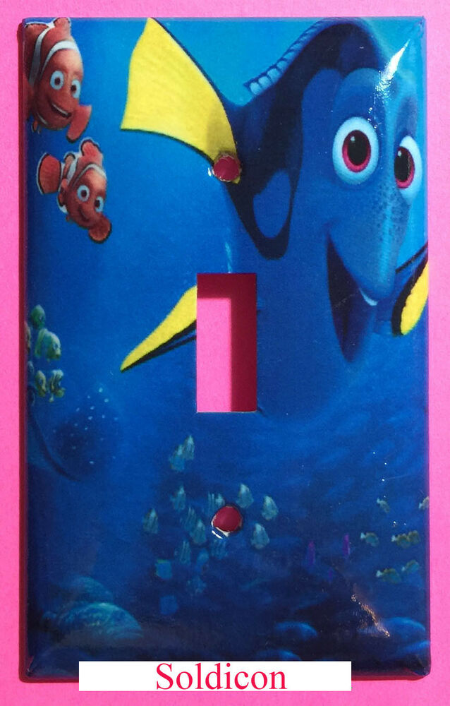 Finding Dory Nemo Light Switch Power Outlet Cover Plate