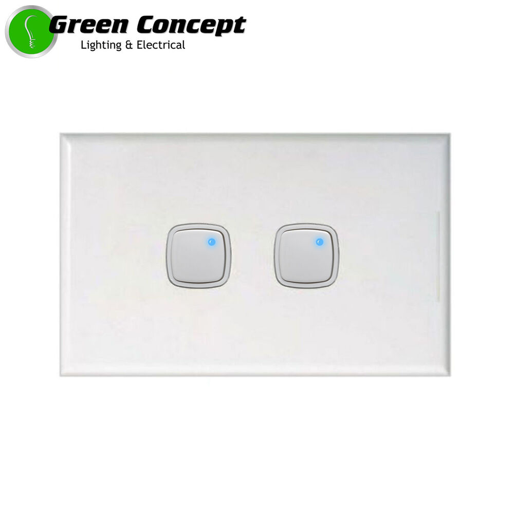 New Push Button Universal Dimmer Double Light Switch 350w