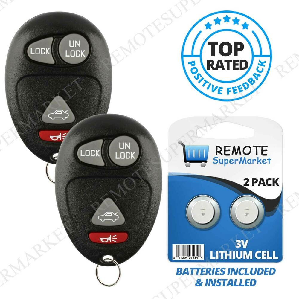 2001 Buick Lesabre Battery: Replacement For Buick Century Regal Rendezvous Remote Car
