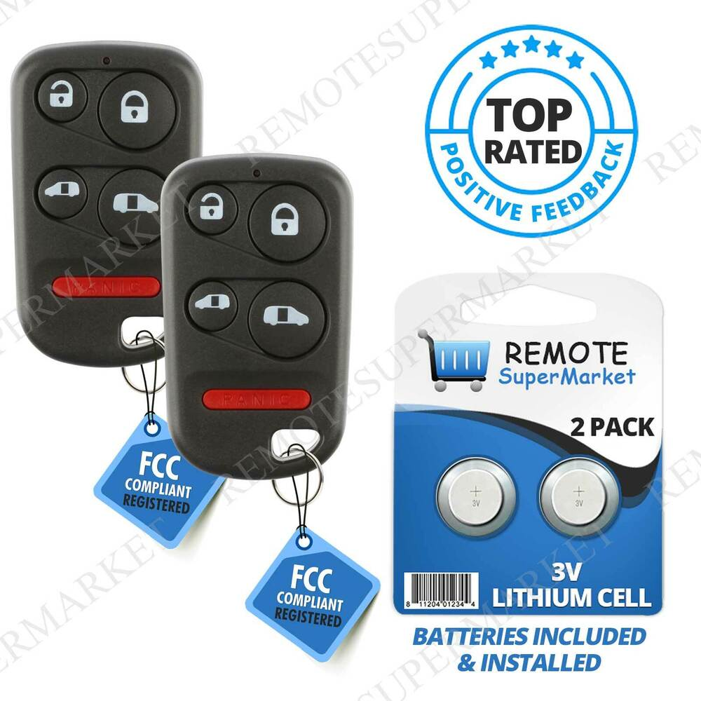 Replacement For Honda 2001-2004 Odyssey LX EX Remote Car