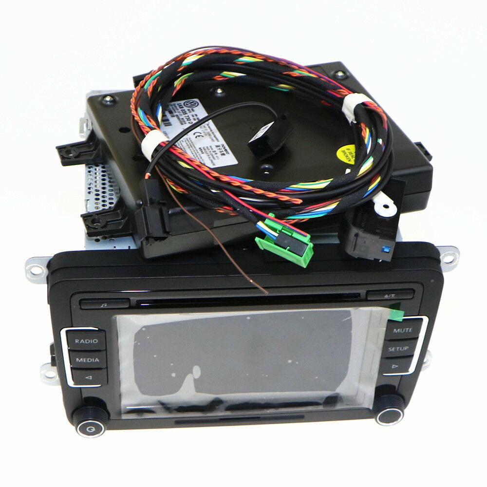 9w2 bluetooth module original rcd510 aux usb code for vw. Black Bedroom Furniture Sets. Home Design Ideas