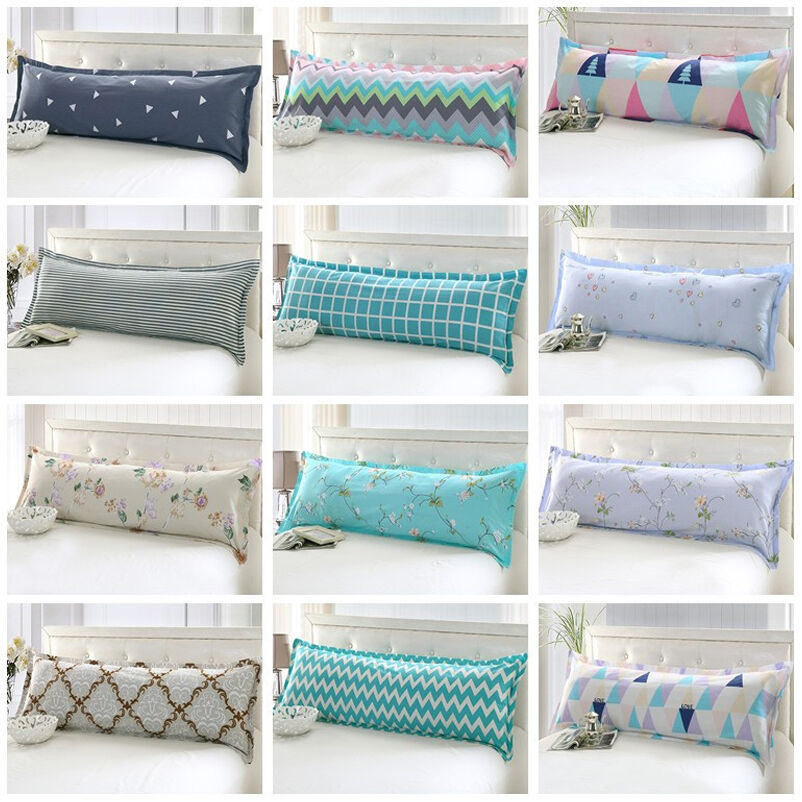 Long Pillows For Bed Bed Sleep Long Body Pillow Case Cover