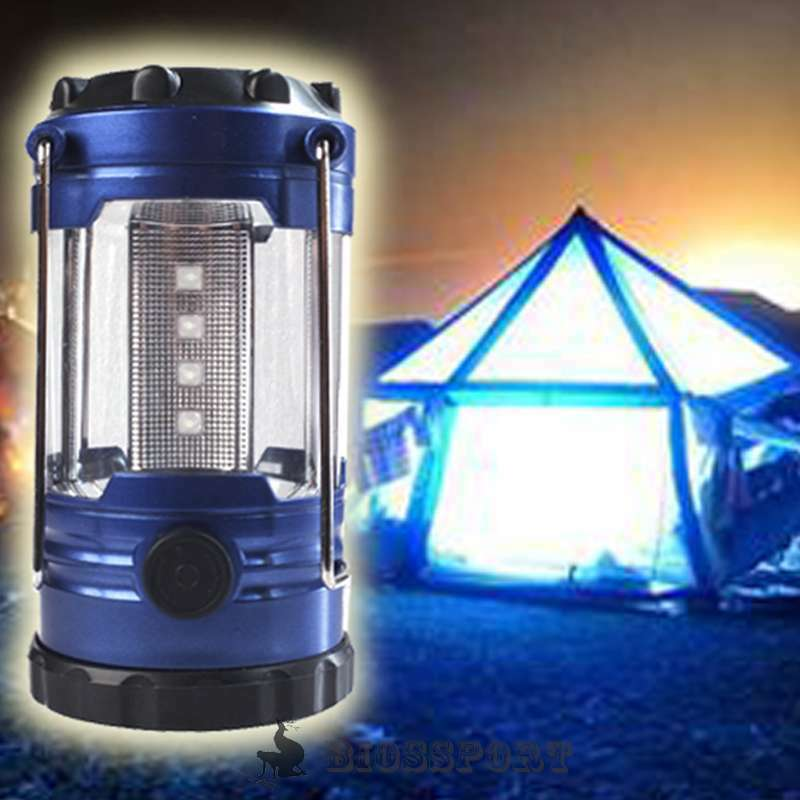 new 12 led portable camping torch lantern battery operated night light tent lamp ebay. Black Bedroom Furniture Sets. Home Design Ideas