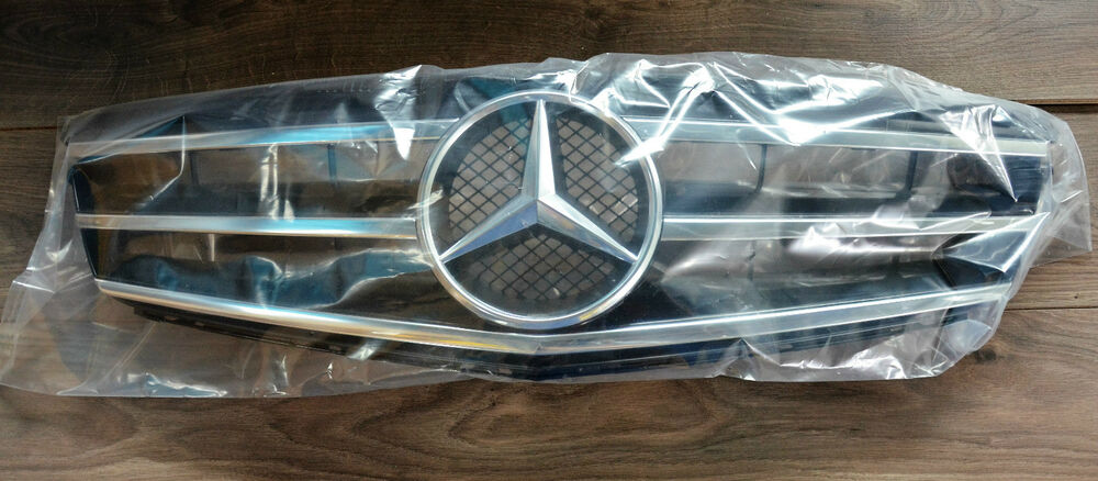 mercedes benz original c klasse k hlergrill w204 amg grill. Black Bedroom Furniture Sets. Home Design Ideas