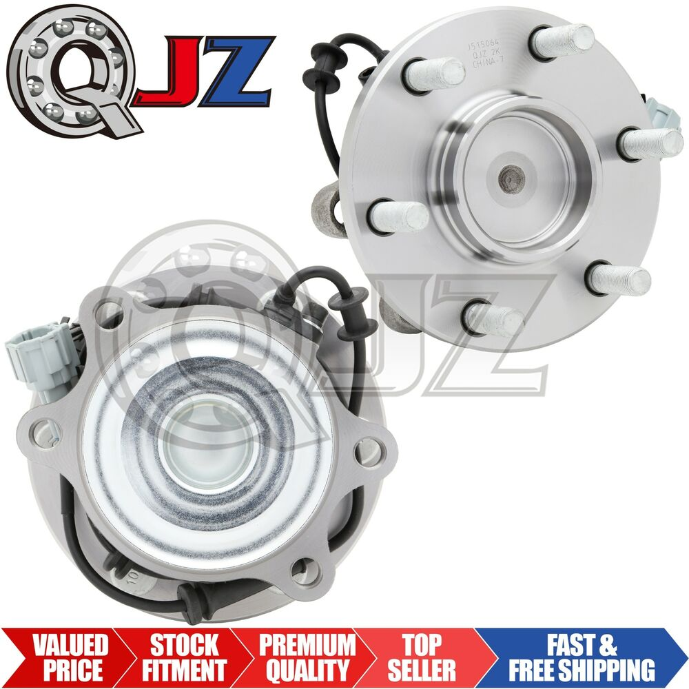 2005 Nissan Frontier Wheels: 2x Front Wheel Hub Bearing Stud W/ ABS For 2005-2013