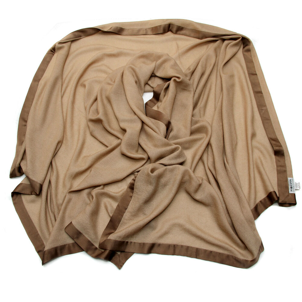 Cashmere blanket 100 cashmere travel throw mongolian for Soft blankets and throws