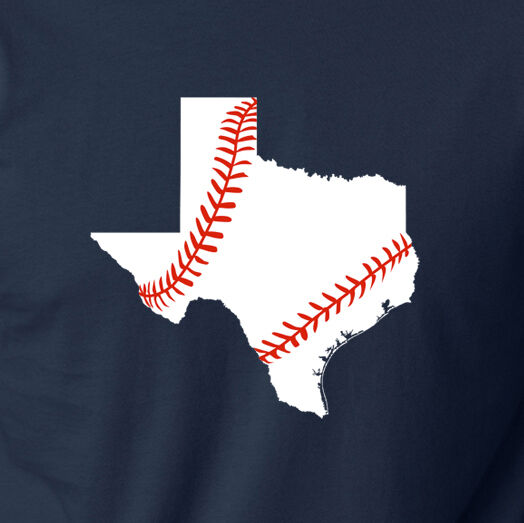 Texas baseball season pride game rangers astros spring for Texas baseball t shirt
