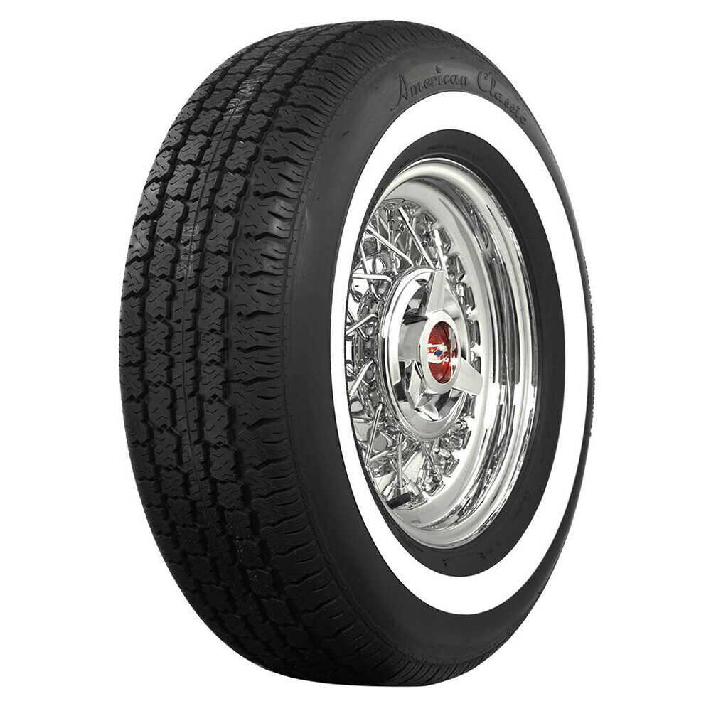 American classic narrow whitewall p215 75r15 100s 1 3 for American classic 3