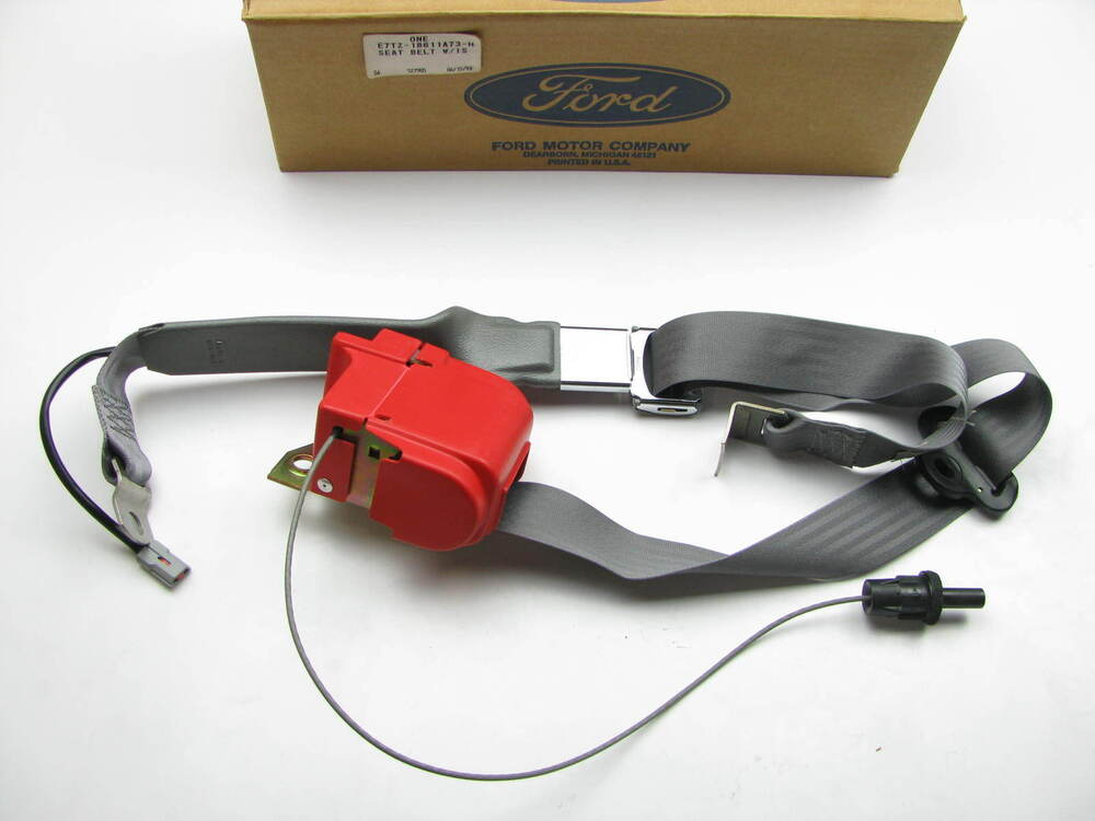Ford F350 Accessories >> Left Drivers Seat Belt Complete W/ Retractor & Latch OEM Ford E7TZ-18611A73-H | eBay