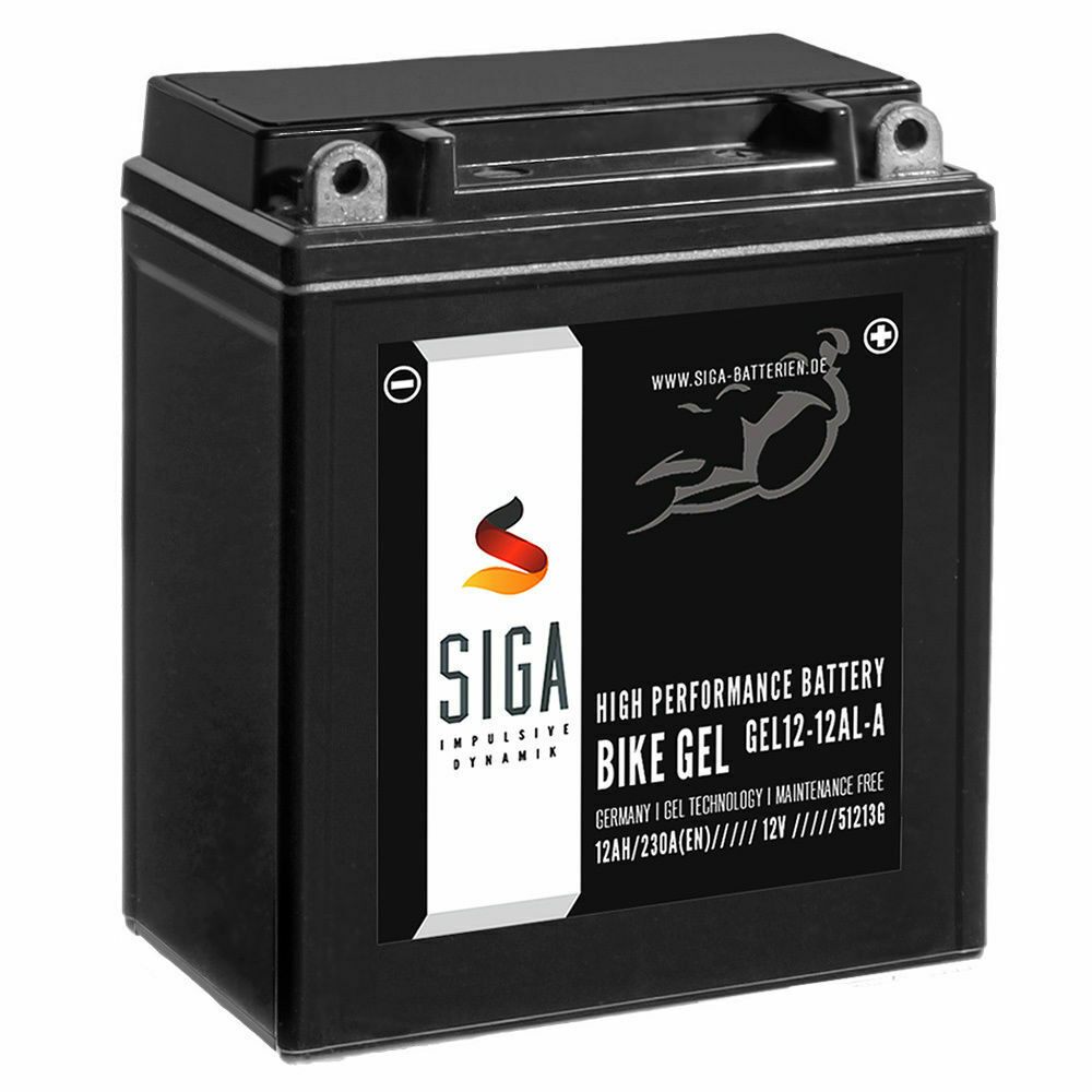 siga gel motorrad batterie yb12al a2 12ah 12v 230a bmw f. Black Bedroom Furniture Sets. Home Design Ideas