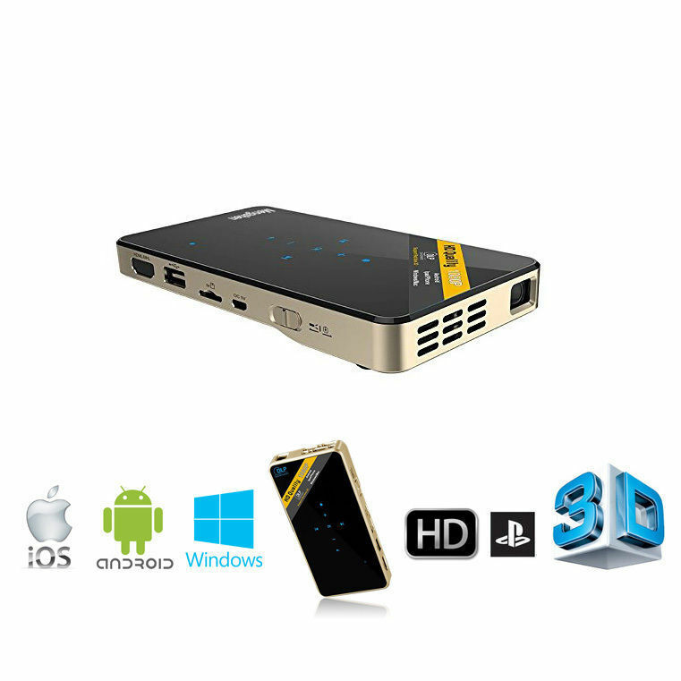 Mini led dlp wifi pocket projector miracast for ios for Mini wifi projector review