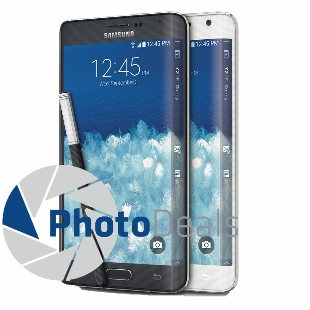 samsung galaxy note edge 32gb 5 6 4g lte unlocked android 4 4 smartphone ebay