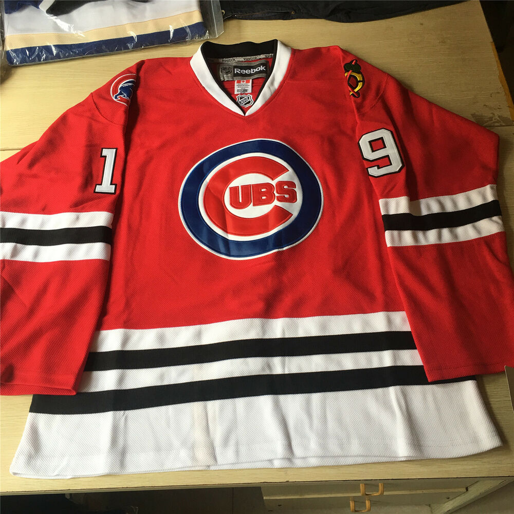 Details about Brand New MLB NHL Replica Chicago Cubs Hockey Jersey.Any  size d06a4af4d98