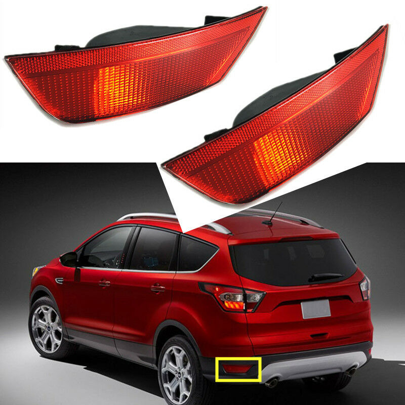 for ford escape 13 16 reflector housing rear bumper tail. Black Bedroom Furniture Sets. Home Design Ideas