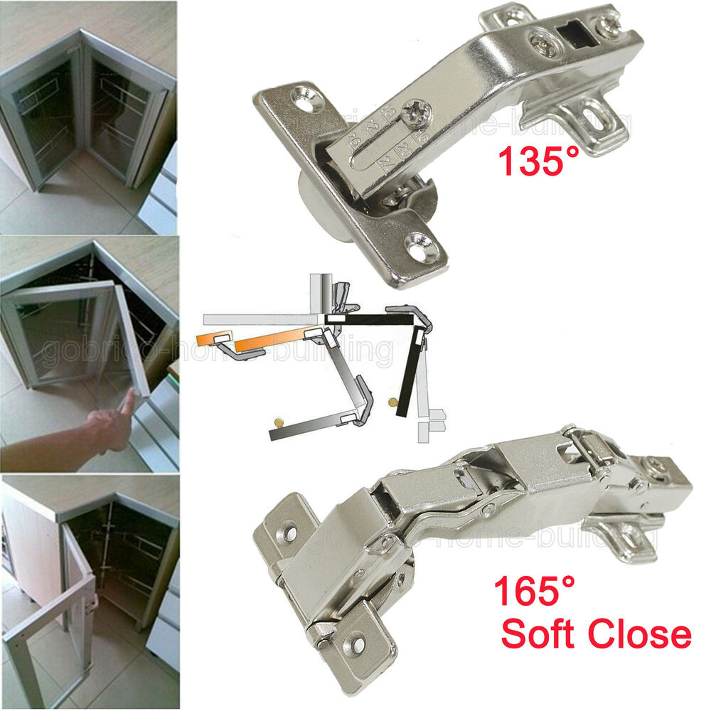best kitchen cabinet hinges 135 165 degree kitchen cabinet cupboard corner bi fold 4482