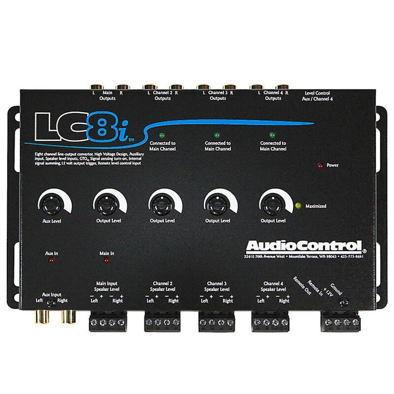 Audiocontrol Lc8i furthermore 109481 One Wire Alternator further Lc7i Wiring Diagram besides Car Audio Wiring Diagrams moreover Audio Control Grey 8 Channel Line Out Converter With Auxiliary Input LC8I. on audio control lc8i
