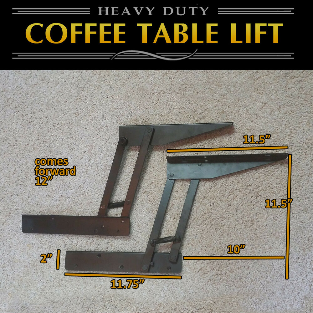 Lift Top Coffee Table Diy Hardware Fitting Furniture Hinge Lift Up E Ebay