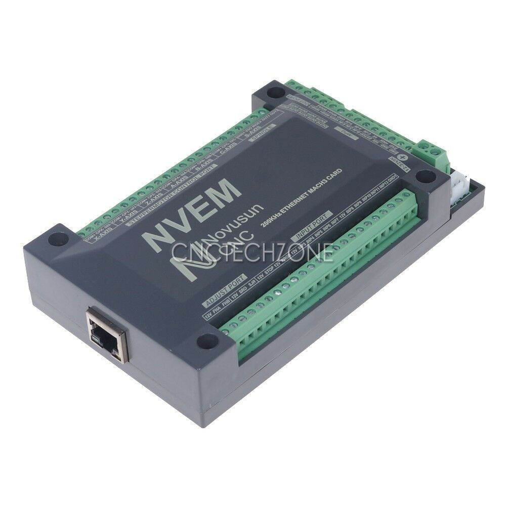 Cnc 6 Aixs 200khz Ethernet Mach3 Motion Control Card For