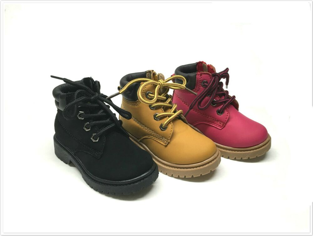 Brand New Toddler Girl's Work Boots Size 5 - 10 | eBay