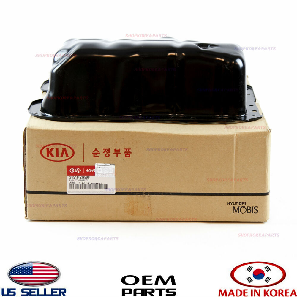 engine oil pan genuine for various hyundai kia 2 0l 2 4l. Black Bedroom Furniture Sets. Home Design Ideas