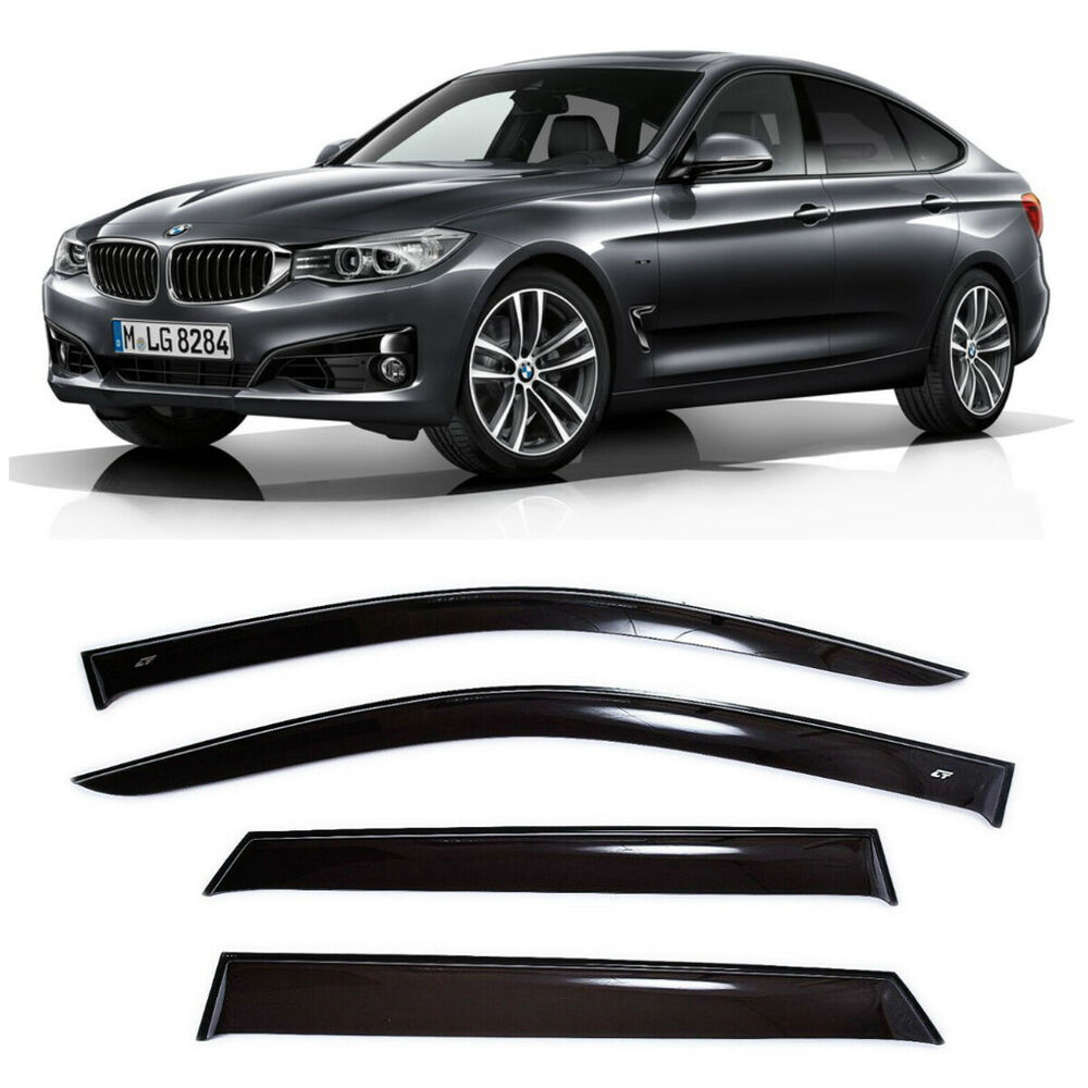 For BMW 3 GT F34 2013-2017 Window Visors Side Sun Rain
