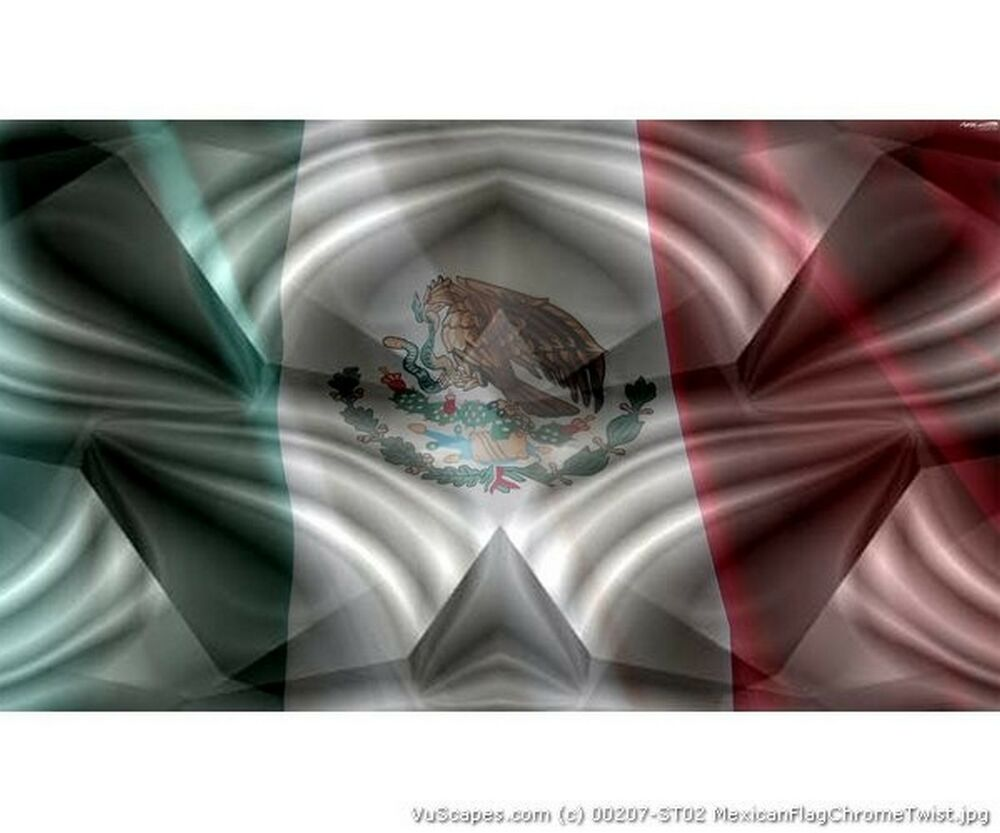 Details about vuscapes truck rear window graphic 4 sizes avial mexican flag chrome twist