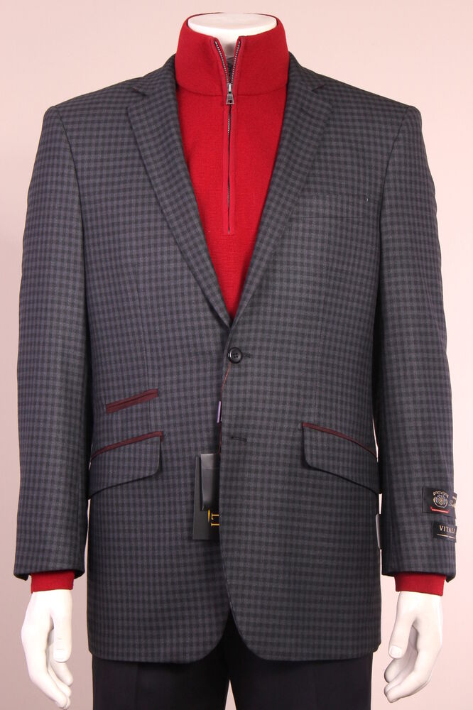Gray Sport Coat Brown Shoes