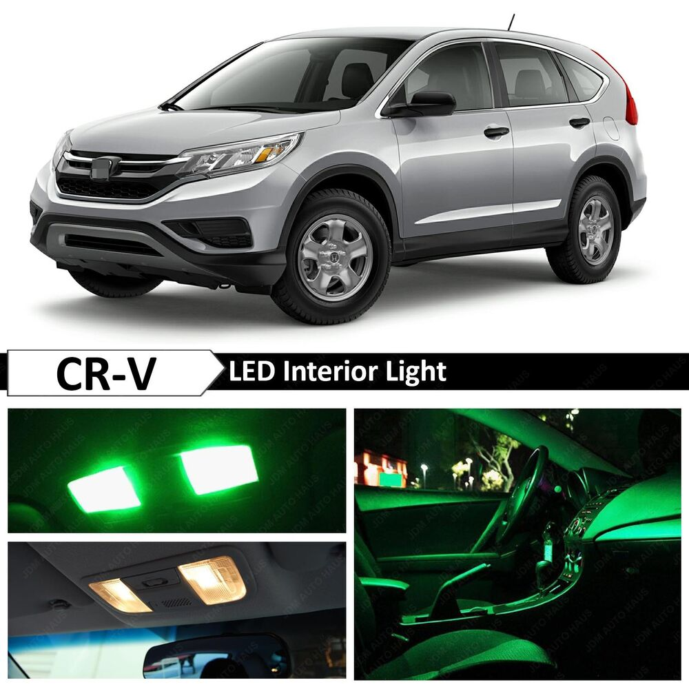 14x green led lights interior package kit for 2015 2017 - 2015 honda accord interior illumination ...