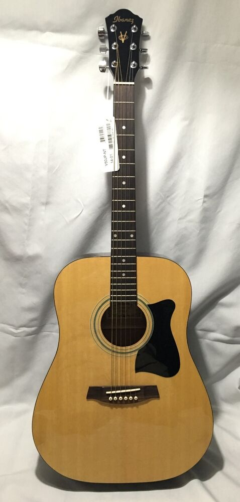 ibanez v50jp nt 14 01 6 string acoustic guitar brand new with tags ebay. Black Bedroom Furniture Sets. Home Design Ideas