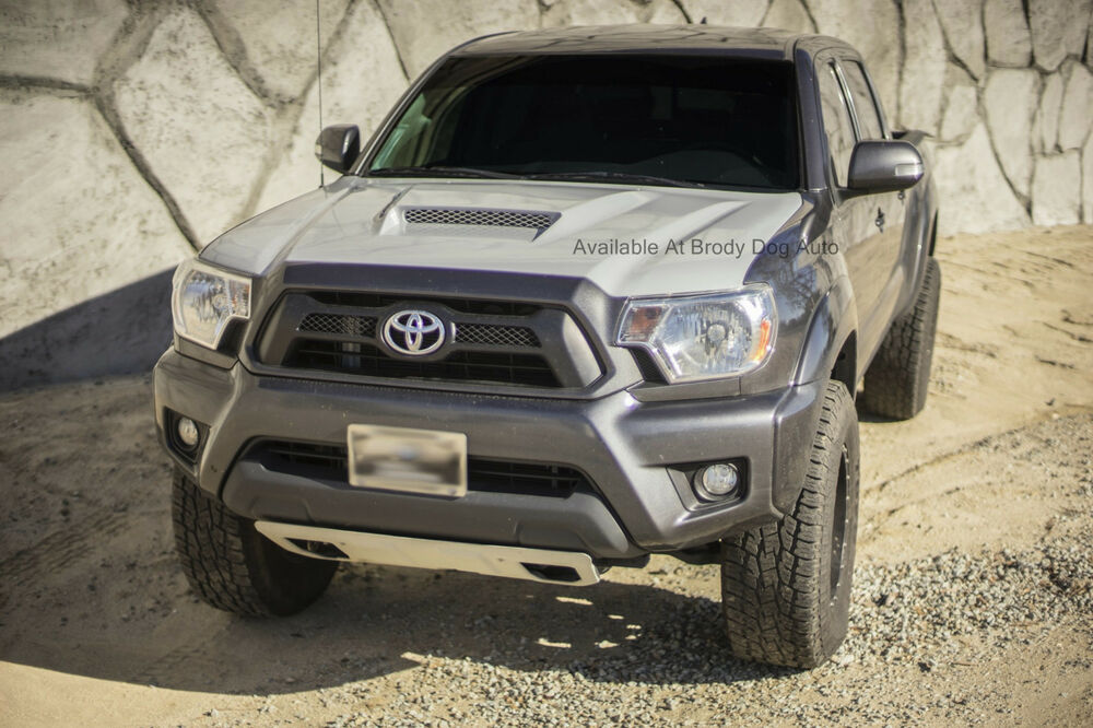 2012 2015 toyota tacoma functional ram air hood rk sport. Black Bedroom Furniture Sets. Home Design Ideas