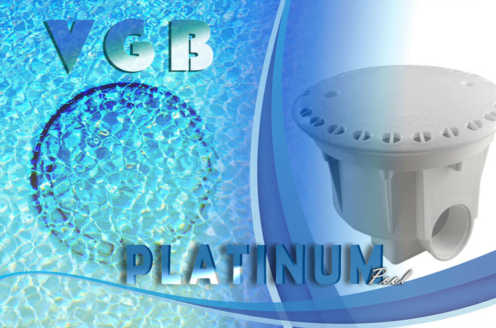Above Ground Pool Main Drain Threaded Vgb Approved Pool