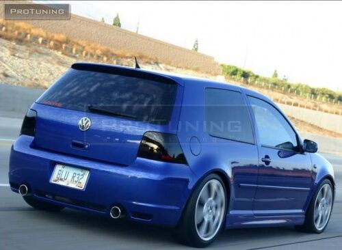 for golf 4 mk4 iv r32 style tailgate rear roof spoiler. Black Bedroom Furniture Sets. Home Design Ideas
